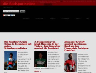 radsportseiten.net screenshot