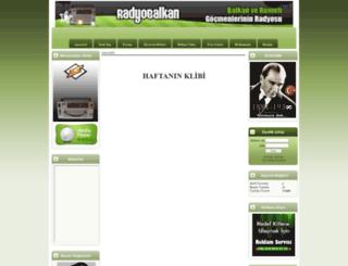 radyobalkan.com screenshot