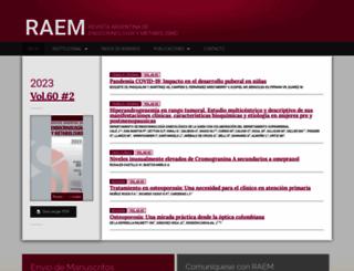 raem.org.ar screenshot