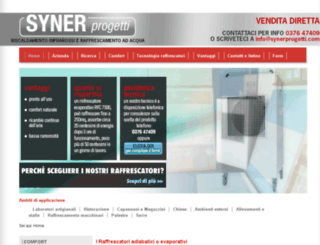 raffrescatori.net screenshot