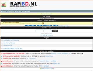 rafibd.ml screenshot