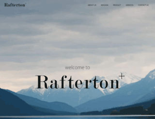 rafterton.co.uk screenshot