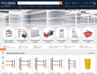 rafturi-online.ro screenshot