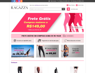 ragazza.com.br screenshot