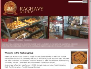 raghavygroup.com screenshot