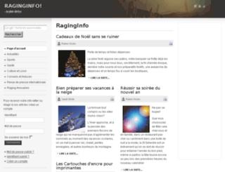 raginginfo.com screenshot