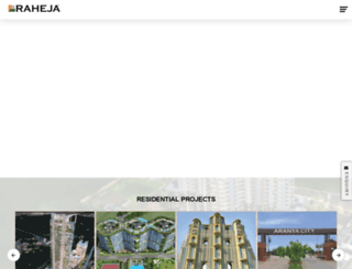 raheja.com screenshot