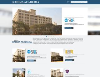 rahejaacademia.com screenshot