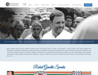 rahulgandhi.in screenshot