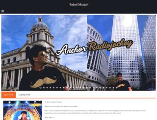 rahulmanjal.com screenshot