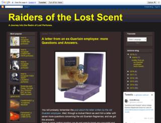 raidersofthelostscent.blogspot.com screenshot