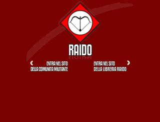 raido.it screenshot