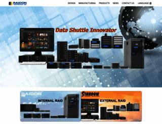 raidon.com.tw screenshot