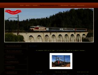 raileuropexpress.com screenshot