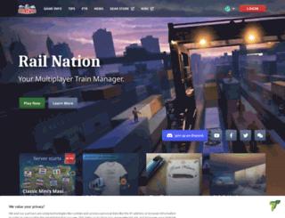 railnation.jp screenshot