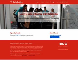 railsbridge.org screenshot