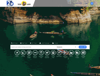 railtourismindia.com screenshot