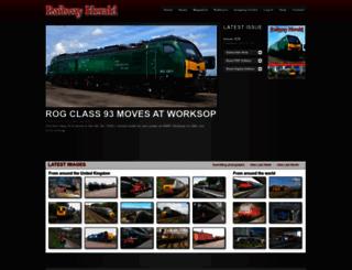 railwayherald.com screenshot