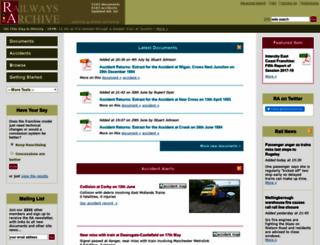 railwaysarchive.co.uk screenshot