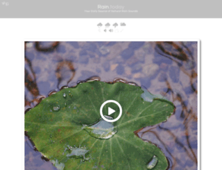 rain.today screenshot