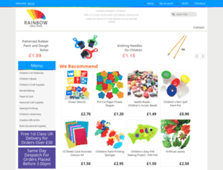 rainbow-creations.co.uk screenshot