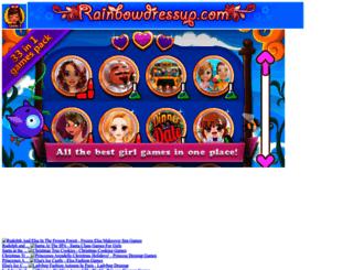 rainbowdressup.com screenshot