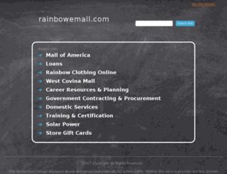 rainbowemall.com screenshot