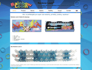 rainbowloom-original.cz screenshot