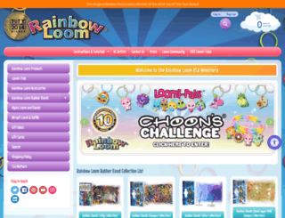 rainbowloom.com screenshot