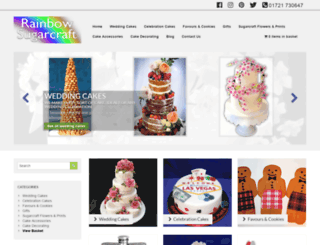 rainbowsugarcraft.co.uk screenshot