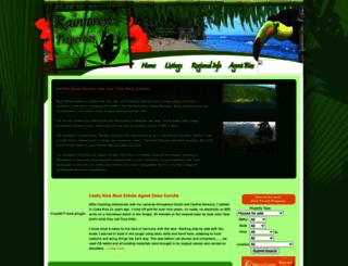 rainforestproperties.com screenshot