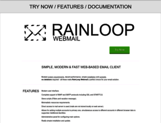 rainloop.net screenshot