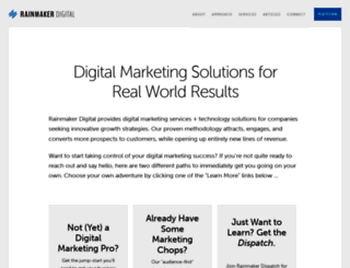 rainmakerdigital.com screenshot