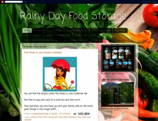 rainydayfoodstorage.blogspot.com screenshot