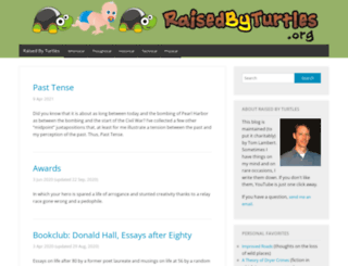 raisedbyturtles.org screenshot