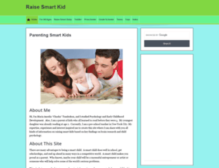 raisesmartkid.com screenshot