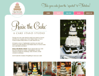 raisethecake.com screenshot