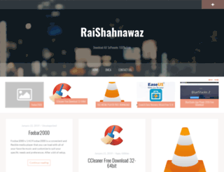 raishahnawaz.com screenshot