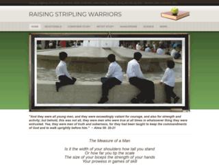 raisingstriplingwarriors.weebly.com screenshot