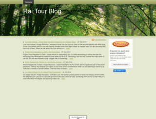 raitourblog.beepworld.de screenshot