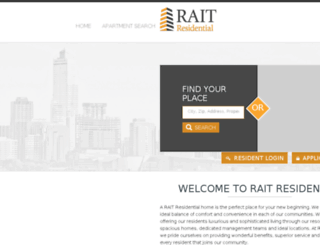 raitresidential-reslisting.securecafe.com screenshot