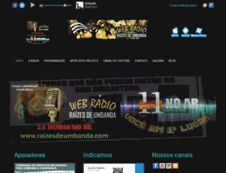 raizesdeumbanda.com screenshot