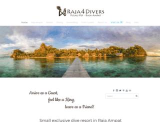 raja4divers.com screenshot