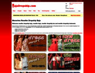 rajadropship.com screenshot