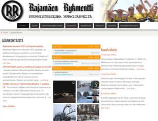 rajamaenrykmentti.fi screenshot