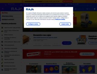 rajapack.es screenshot