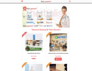 rajapasutri.com screenshot