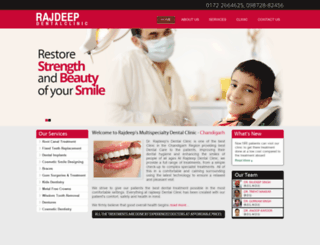 rajdeepdental.com screenshot