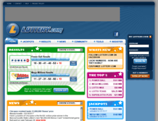 rajeshri.lottery.com screenshot