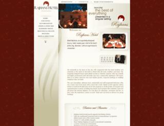 rajhanshotel.com screenshot